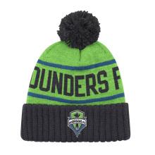 Trendy Knitted Winter Warm Cap Bonnet Bonnet À Broderie