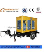 Gerador diesel do reboque quente da venda, gerador diesel para a venda