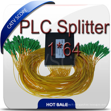 Diviseur de PLC optique de fibre de manière 64 de manière de PLC de Fbt de haute qualité