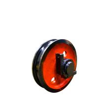 customized Forged Stainless steel Crane Wheel / crane trolley wheels/steel rail wheel