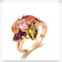 Joyería cristalina accesorios de aleación anillo (al0045g)