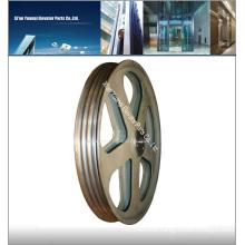 schindler elevator traction wheel