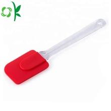 Outil de cuisine de cuisine spatule gâteau de silicone personnalisé