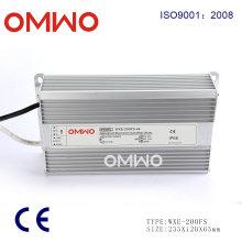 Rainproof 200W LED Driver Power Supply