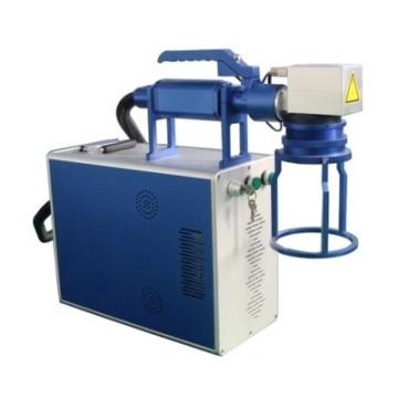 Máquina portable de la marca del laser de la fibra para el metal