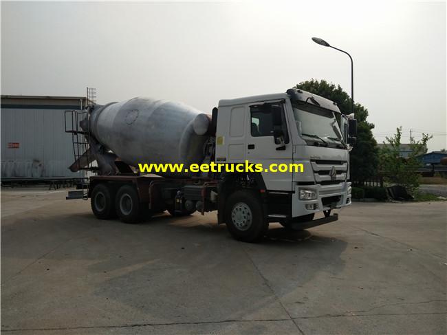 SINOTRUK 12 CBM Concrete Transit Mixers