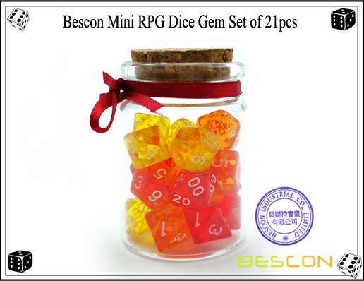Mini Gem Set 21pcs