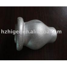 fundición de arena de aluminio piezas de muebles de fundición de arena