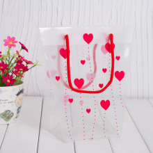 Plastic Shopping Bag with Custom Size and Logo