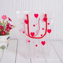 Пластиковая сумка для покупок с нестандартным размером и логотипом