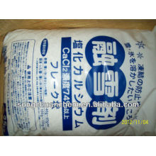 74%min -- calcium chloride---export South Korea