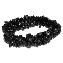"Black Onyx Chip beads 32"""