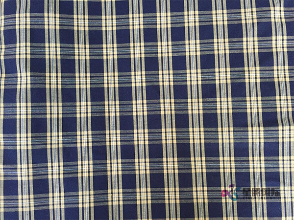 Plaid Design Men's Shirt Fabric