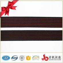 Bande élastique tricotée par bande de polyester pour des choix de choix de qualité de vêtement