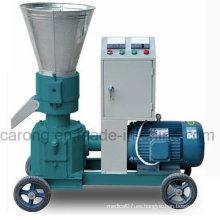 Pequeña máquina de prensado de pellets de pienso animal durable