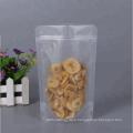 Promotion cheap price nylon clear plastic zipper pouch