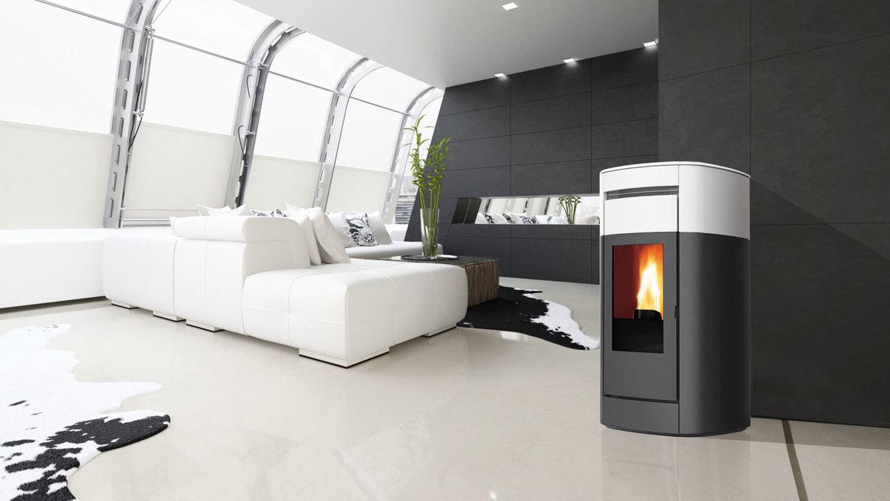 The cheapest pellet stove