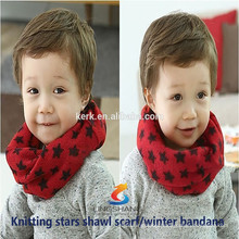 New 2015 knitted neck warmer cashmere scarf for women