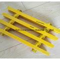 Отлитая в форму решетка стеклоткани, Вогнутая или скрипнул панели, Одноосноориентированные решетки.