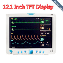Multi-Parameter 12.1 Inch TFT Display Patient Monitor Pdj-3000b