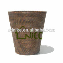 2014 hot sale outdoor rattan flower floor vase