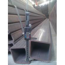 Китай Квадратные трубы / Конструкция pipeQ235 / SS400 / SS490 Квадратная пустотелая секция ASTM A500 В ДУБАЙ