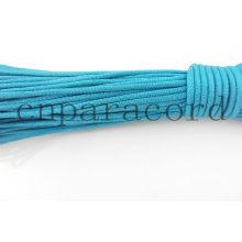 luz azul pára-quedas cabo 550 cabo de poliéster 100ft