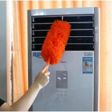 Fibre feather duster brusher