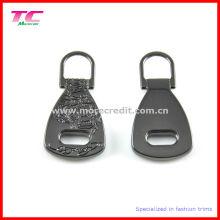 Shiny Gun Metall Farbe Metall Zipper Abzieher für Gepäck
