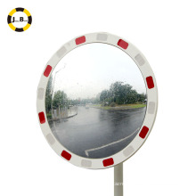 KeyLight Series Round Reflective Convex Mirror For Traffic Alert