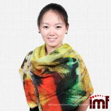 Новое прибытие красивейшее покрасило Scenic повелительницы шарфы украшения кашемир модальные ткани