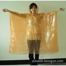 PE raincoat poncho