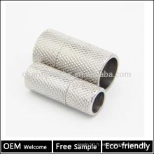 BX010 Vente en gros 304 Fermoir magnétique en acier inoxydable pour bracelets à corde bijoux Échec gratuit