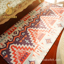 Design Good Wearability Nonwoven Runner Rug Mat