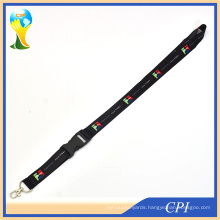 Promotion Sublimation Badge Holder Lanyard