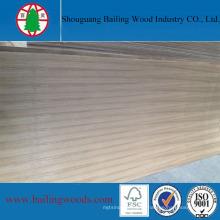Bloco de madeira natural da folheada do AA do folheado da teca