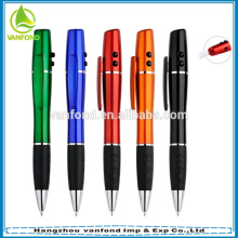 caneta de luz laser promocional plástico barato 3 em 1