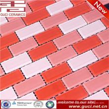 made in china Misturado telha de mosaico de vidro de cristal para o projeto barthroom