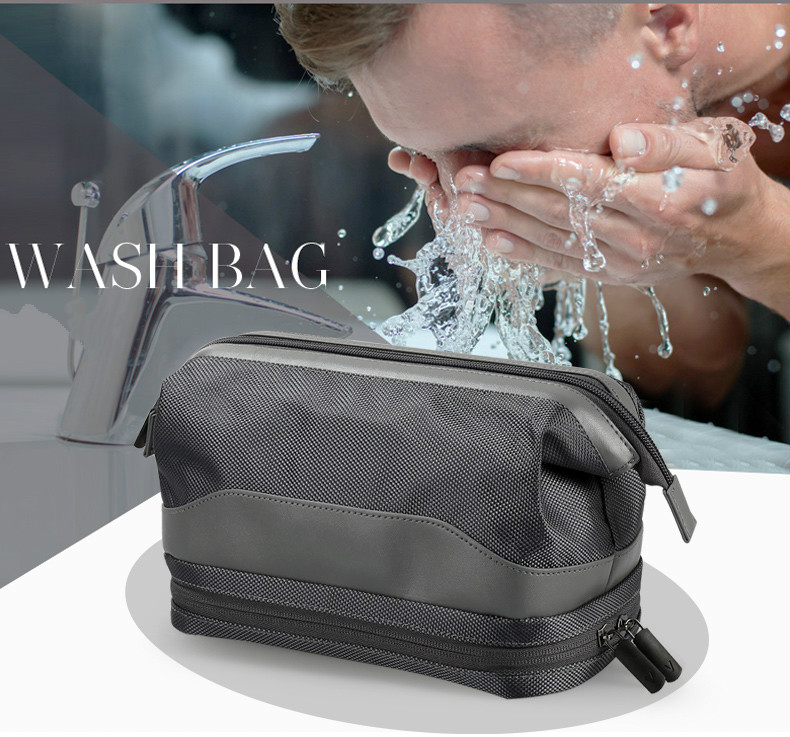 Waterproof Men Travel Toiletry Bag With Custom Logo 6