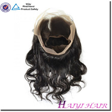 Large Stock Original human hair Indian virgin full cuticle aligned hair original 360 lace frontal
