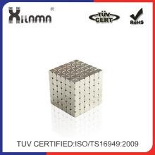 Ofrecemos imán de NdFeB cubo fabricante de imán del neodimio