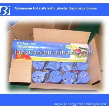 dispensador de rolo de papel de cozinha de alumínio