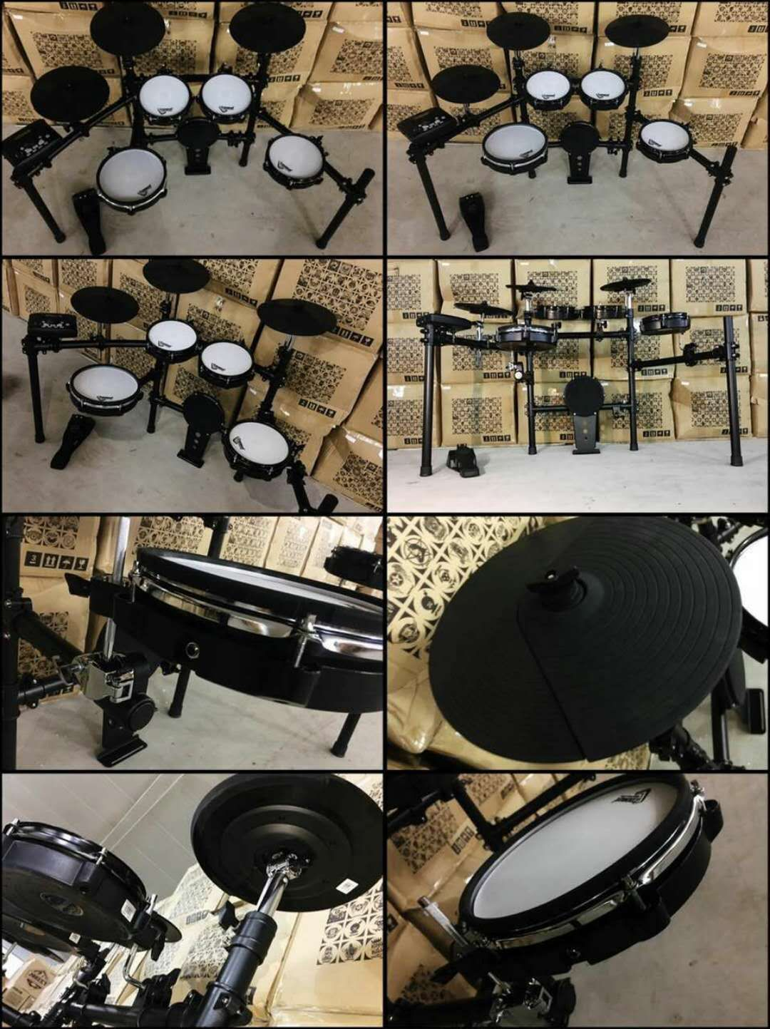 5 Pieces Jazz Drum