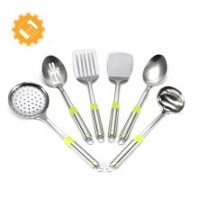 Nomes de aço alemão de utensílios de cozinha, conjunto de ferramentas de cozinha