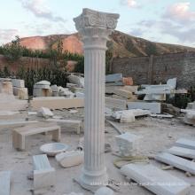 columna pilares de mármol de la casa del pilar de mármol