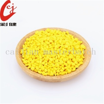 High Definition for Masterbatch Granules Yellow Color Masterbatch Granules export to France Supplier