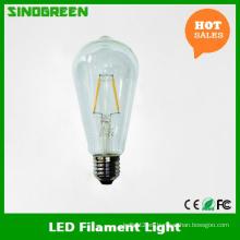 Nuevo 85-265V 4W LED filamento St64 LED