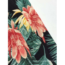 Rayon Slub Print Fabric