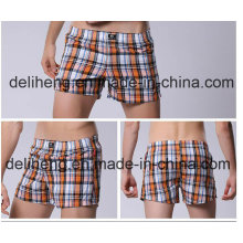 100% Polyester Garn gefärbt Männer Strand Kurz Stoff