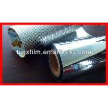 Película de aislamiento reflectante de aluminio